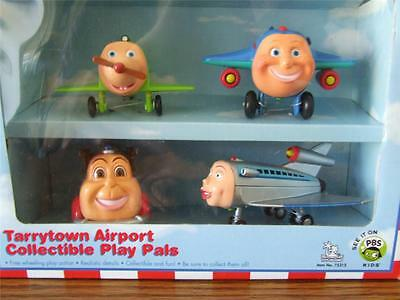 New The Jet Plane Snuffy Jay Jay Revvin Evan Savannah Sealed Box PBS Kids Rare