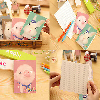 4Styles Notepad Office Supplies School Animals Notebook Diary Stationery