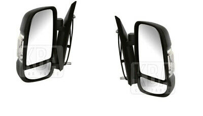 Citroen Relay 2006-2014 Electric Door Wing Mirror 1 X Pair Left And Right Side