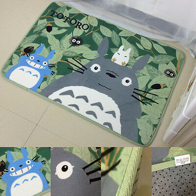 Anime My Neighbor Totoro Mat 47''x20'' Soft Rug CarpetKids Xmas Birthday Gift