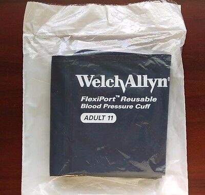 Welch Allyn Blood Pressure Cuff Reusable 1-Tube ADULT #REUSE-11-1SC NEW