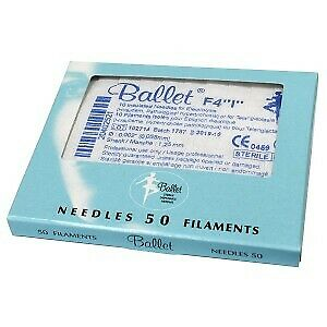 Ballet Insulated Needles N4 (50)