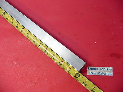 "1""x 1""x 1/8"" Wall x 24"" Long ALUMINUM SQUARE TUBE 6063 T52 1"" SQ x .125"" W New"