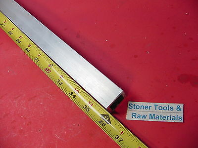"1""x 1""x 1/8"" Wall x 36"" Long ALUMINUM SQUARE TUBE 6063 T52 1"" SQ x .125"" W New"