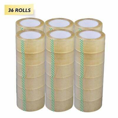 """36 Rolls 2"""" Clear Tapes 110 yard 330 ft  Clear Packing Tape Carton Sealing Box"""