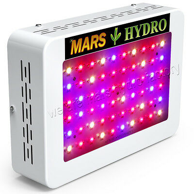 Mars Hydro 300 Led Grow Light Full Spectrum Panel Hydroponic Indoor Plant140W±5%