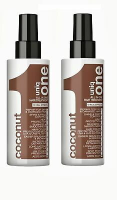 Revlon Uniq 1 Coconut All in One Hair Treatment 150ml x2