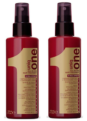 Revlon Uniq 1 All in One Hair Treatment 150ml x2