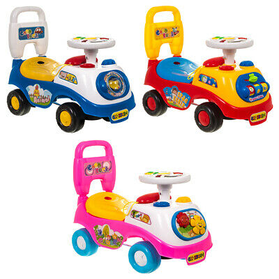 My First Ride On Kids Toy Car Boys Girls Push Along Baby Walker Toddler Infants