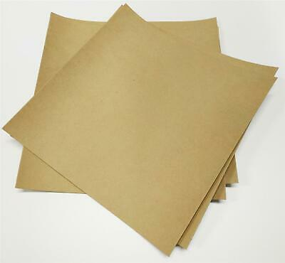 Gasket Paper - Oil & Water Resistant - 2x 0.4mm & 2x 0.8mm Sheets - 25Cm x 25Cm