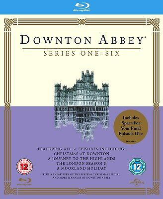 Downton Abbey: Series 1-6 (Box Set) [Blu-ray]