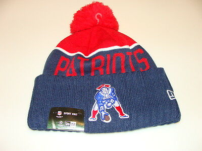 ... coupon for new england patriots knit on field new era toque beanie  retro sideline cap hat bc5d0161b