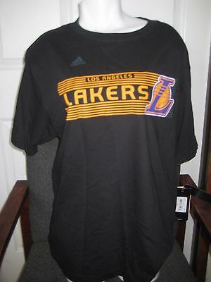 53af0d3ac12 Adidas NBA Men's Los Angeles Lakers T-Shirt, NEW WITH TAGS, Size Large