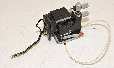 Karl Suss Probe Head 3 Axis Micromanipulator with Vacuum Base W3