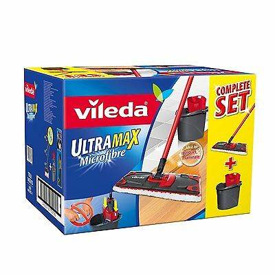 Vileda Ultramax Flat Mop and Bucket Set ● Brand New ● Fast Delivery ●