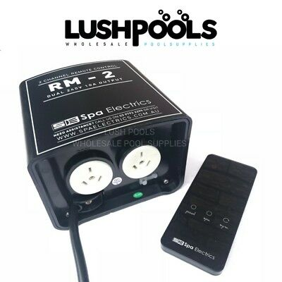SPA ELECTRICS RM-2 RM2 Remote Control Unit + Receiver for Pool & Spa Lights