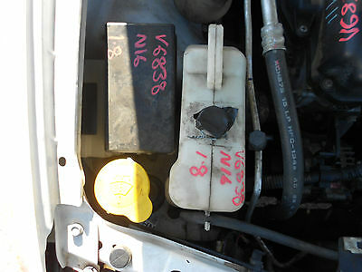 2002 Nissan N16 Pulsar Hatch Radiator Overflow Bottle S/N# V6838 BI5535