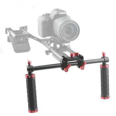 Camvate Dual Handle Hand Grip for Shoulder Pad 15mm Rail Rod Rig Support System