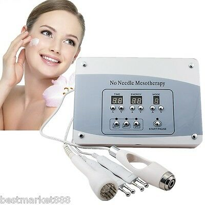 Home Needless Mesotherapy Facial Microcurrent Face Lift Photon Skin Care Machine