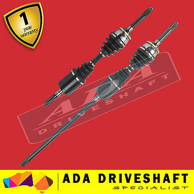 2 BRAND NEW CV JOINT DRIVE SHAFT HOLDEN RODEO R9 98-03 (Pair)
