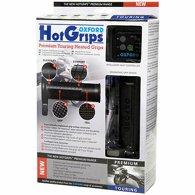 Oxford Hot Grips heated grip Touring model 120mm long for road & touring OF691
