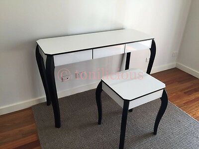 3 Drawers Mirrored Makeup Vanity Table/Dressing Table - Makeup mirror furniture