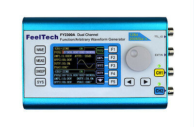 2MHz Arbitrary Waveform Dual Channel Signal Generator 200MSa/s Frequency Counter