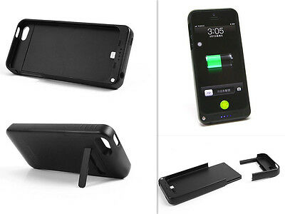 New Portable Rechargeable Backup Charging Case Power Bank For iPhone5 5S