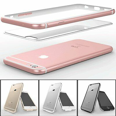 New Clear Crystal Aluminum Metal Bumper Case Cover Shell for iPhone 6s& 6s Plus