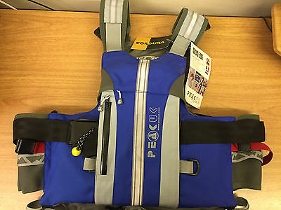 Peak UK River Guide Vest Style Buoyancy Aid - Size L / XL - Brand New with Tags