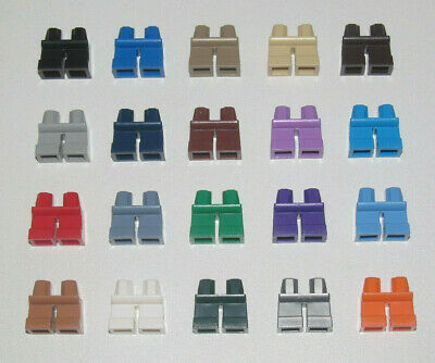 Lego ® Minifig Paire Jambes Enfant ou Nain Child Legs Choose Color 41879 NEW