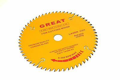 "3 PCS x 9"" 230mm QUALITY TIMBER WOOD CUTTING DISC DISK DISKS WHEEL CARBIDE BLADE"