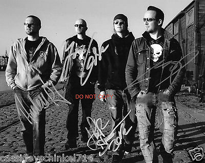 """Volbeat band Reprint Signed 8x10"""" Promo Photo RP #1"""