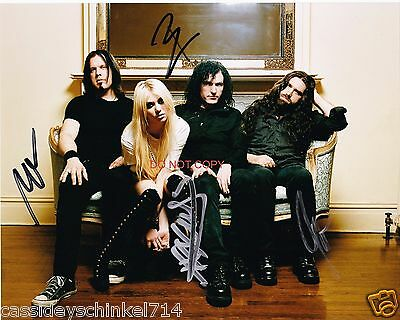 The Pretty Reckless band Reprint Signed 8x10 Photo RP Taylor Momsen