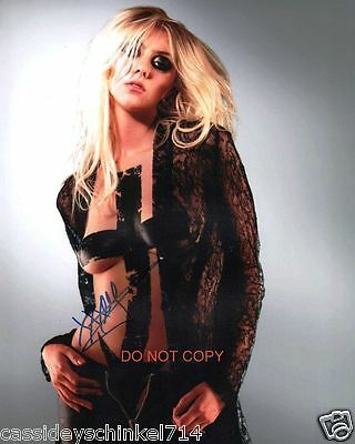 Taylor Momsen singer The Pretty Reckless band Reprint Signed 8x10 Photo #1 RP