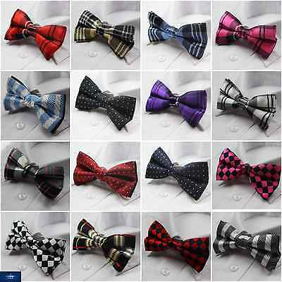 Mens Patterned Pre Tied Bow Tie Men's Wedding Fancy Dress Party Formal Bowtie