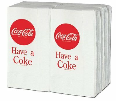 Have a Coke Paper Napkins 100 Pack New