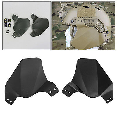 Up-Armor Side Ear Cover Protector for Airsoft Painball Tactical Fast Helmet Rail