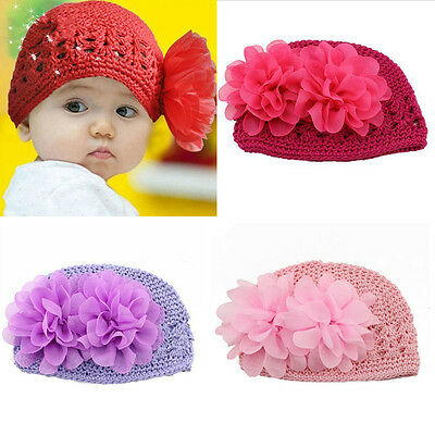 Warm Knitted Hat For Baby Girl Cap Infant Newborn Beanie Christmas Party Gifts