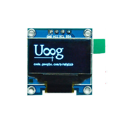 "blue 0.96"" I2C IIC 128X64 OLED LCD LED Display Module Board SSD1306 For Arduino"
