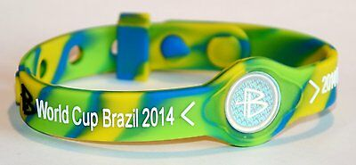 Power Balance Energetix 4You Ionen Silikonarmband World Cup 2014 bracelet