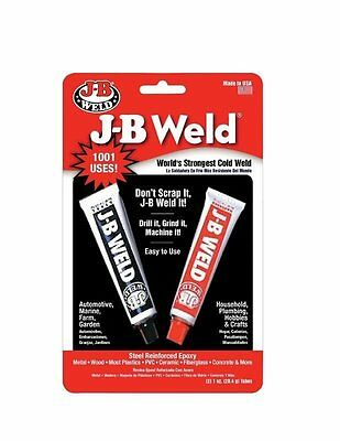 J B Weld 8265S Original Weld Setting Steel Reinforced Epoxy - 2 oz