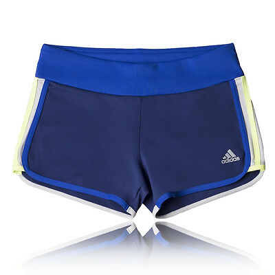 adidas Go-to-Gear M10 Aderente Donna Blu Climalite Corsa Shorts Pantaloni