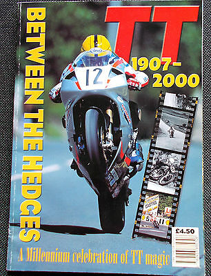 History of the TT 1907-2000 Between the Hedges- Isle of Man - P/B 2000