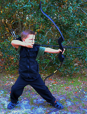 Hawkeye Bow, Quiver, and Arrows FOR KIDS