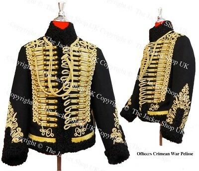 British Cavalry Officer Crimean War 11th Hussars Pelisse / Tunic Jacket