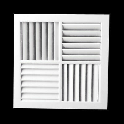 4 Way Vent Multi-Directional Outlet Face 340mm Outlet Aircon Heating&Cooling