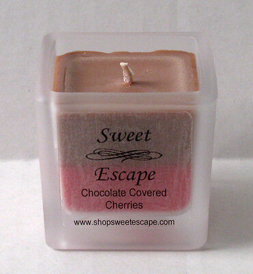 Sweet Escape 1.8oz Chocolate Covered Cherries Scented Votive Candle