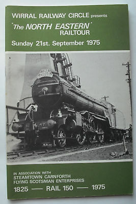 North Eastern Rail Tour 21st Sept 1975 Wirral Railway