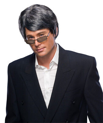 Rubie's Deluxe Men's Gray Character Wig Adult Costume Accessory 50784